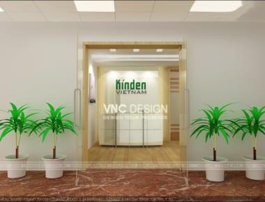 Thiết kế văn phòng Kinden Việt Nam
