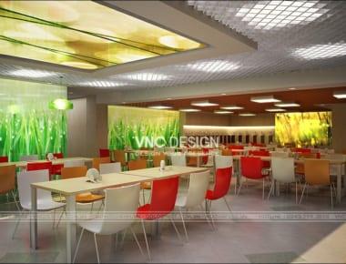 Thiết kế nội thất văn phòng Meiden Singapore