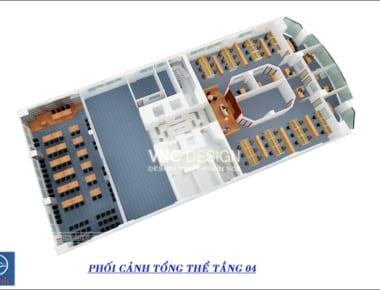 Thiết kế nội thất văn phòng Vidifi