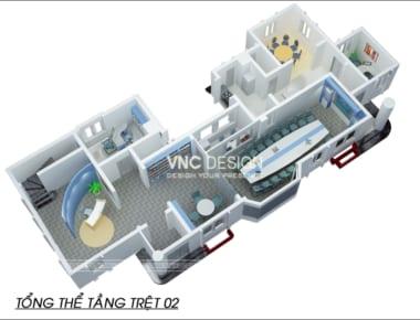 Thiết kế nội thất văn phòng Glascode