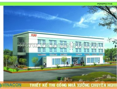 Thiết kế nhà xưởng Nhà máy lốp Ô tô K90 – KCN Văn Lâm – Hưng Yên