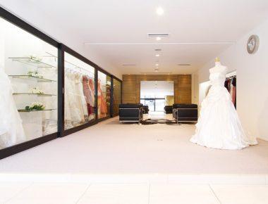 Thiết kế nội thất showroom áo cưới Poloma