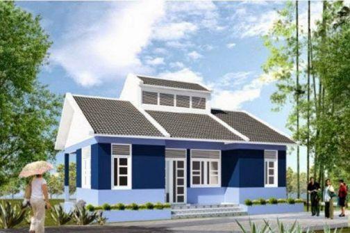 Mẫu 11 - Chi phí xây nhà 200 triệu đồng