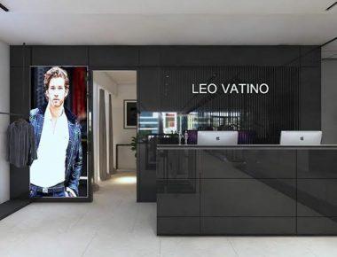Thiết kế Shop Thời Trang nam Leo Vatino