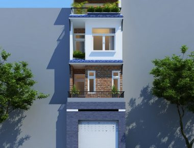 Mẫu nhà phố hiện đại diện tích nhỏ 4x16m