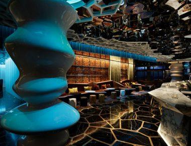 Thiết kế quán Bar Luxyry Seven