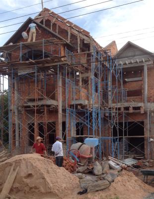 Thi công nhà phố đẹp 5 tầng tại Đông ANH – Hà Nội