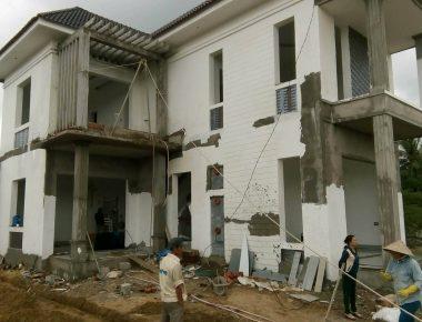 Thi công nhà phố đẹp tại Thành Phố Vĩnh Yên – Vĩnh Phúc