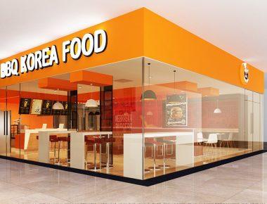 Thiết kế cửa hàng quán ăn nhanh BigC Hải Dương