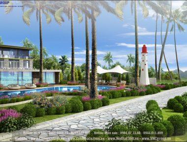 Thiết kế khách sạn Moncity Resort