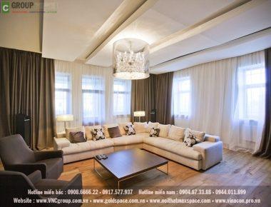 Thiết kế nội thất biệt thự Thành Phố Vinh