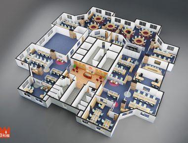 Thiết kế nội thất văn phòng BKAV
