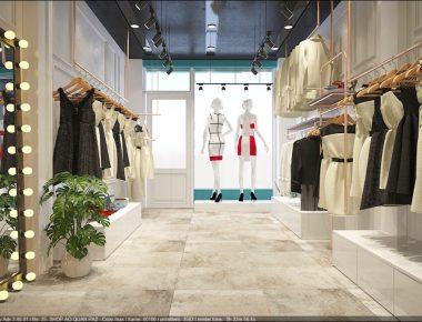 Thiết kế Shop Thời Trang Lily Boutique tại Hà Nội