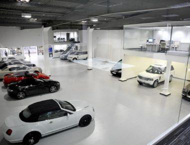 Thiết kế showroom Ô tô Mitsubishi