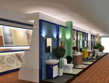 Thiết kế Showroom vật liệu xây dựng Dũng Tâm – Hải Dương