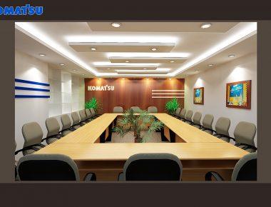 Thiết kế văn phòng Komatsu Việt Nam