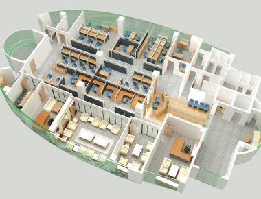Thiết kế văn phòng PVFC Việt Nam
