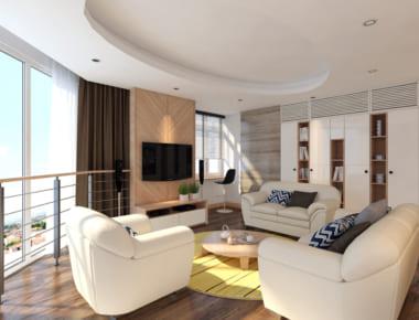 Thiết kế nội thất Chung Cư Làng Quốc Tế Thăng Long