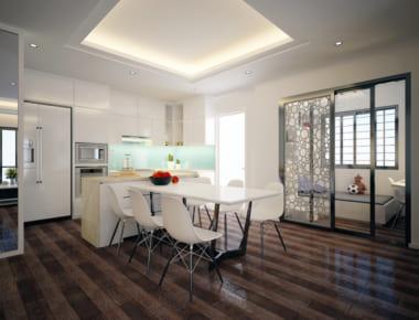 Thiết kế nội thất Chung Cư N04 – Hoàng Đạo Thúy