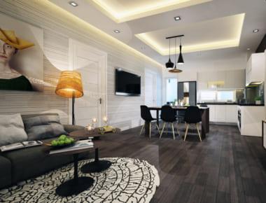 Thiết kế nội thất Chung Cư Skylight căn hộ 3 phòng ngủ
