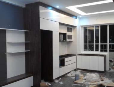 Thiết kế thi công nội thất Chung Cư Nam Xa La