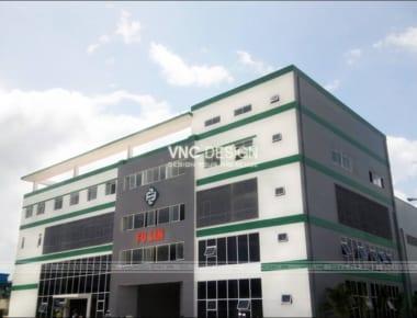 Thi công xây dựng nhà máy sản xuất FuLin