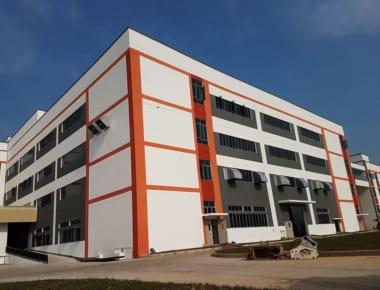 Thi công xây dựng nhà máy sản xuất HanJung Vina