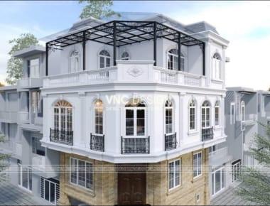 Thiết kế biệt thự 3 tầng đẹp tại Hải Dương