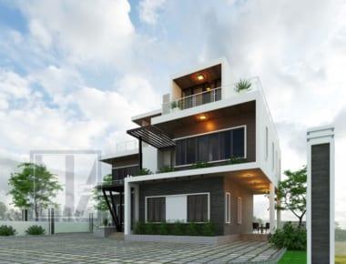 Thiết kế biệt thự đẹp 3 tầng đẹp – Thanh Xuân – Hà Nội