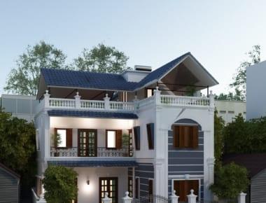Thiết kế biệt thự đẹp 3 tầng – Hà Đông – Hà Nội