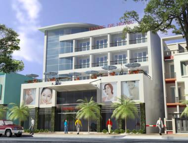 Thiết kế Khách sạn Hoàng Đế