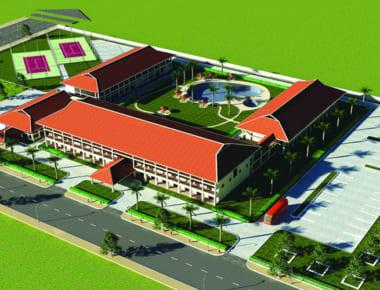 Thiết kế Khách sạn Trung tâm hội nghị Ninh Bình