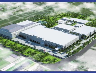 Thiết kế nhà xưởng Nhà máy Điện tử MEIKO Việt Nam giai đoạn 3
