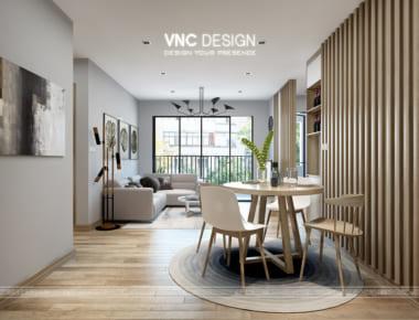 Thiết kế nội chung cư Vinhome GreenBay đẹp tinh tế