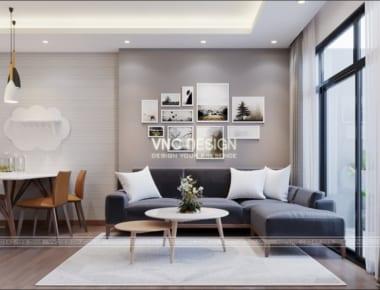 Thiết kế nội thất căn hộ chung cư An Bình City căn hộ 3 phòng ngủ diện tích 90.6 m2