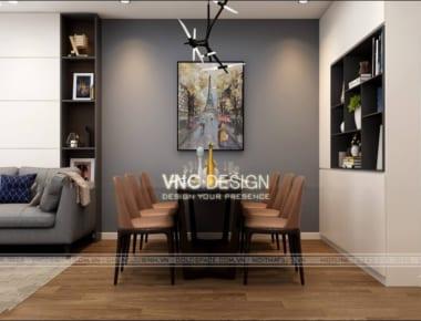 Thiết kế nội thất căn hộ chung cư An Bình City diện tích 74.7 m2