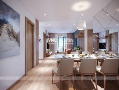 Thiết kế nội thất căn hộ chung cư An Bình City nhà Chị Phương diện tích 90.6 m2