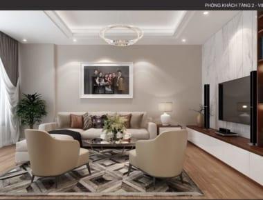 Thiết kế nội thất nhà phố đẹp 4 tầng diện tích 40m2