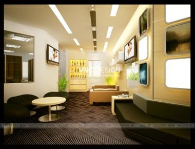 Thiết kế nội thất văn phòng 17T2 – Hoàng Đạo Thúy