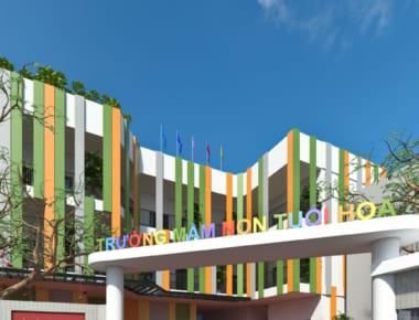 Thiết kế Trường mầm non Tuổi Hoa