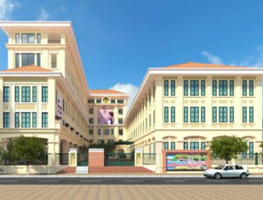 Thiết kế Trường tiểu học Nguyễn Công Trứ