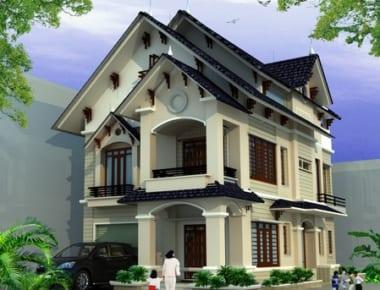 20 mẫu thiết kế biệt thự hiện đại và cổ điển đẹp mắt.