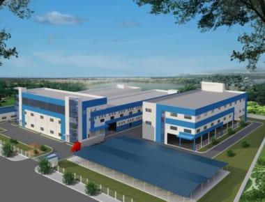 Thiết kế nhà xưởng Sindoh Việt Nam