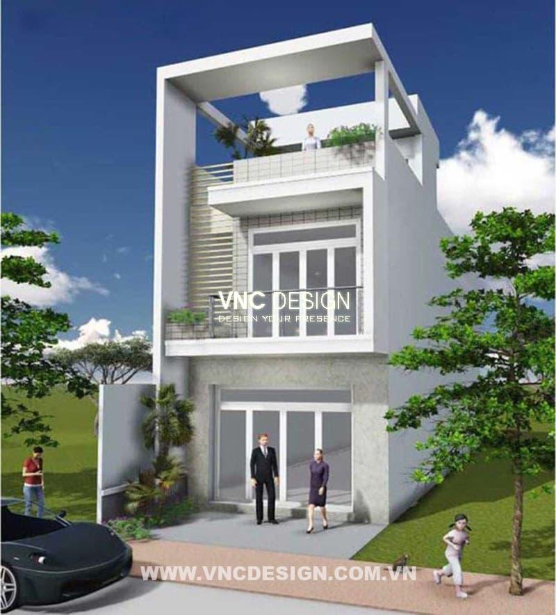 Mẫu nhà hiện đại với mức giá 400 triệu