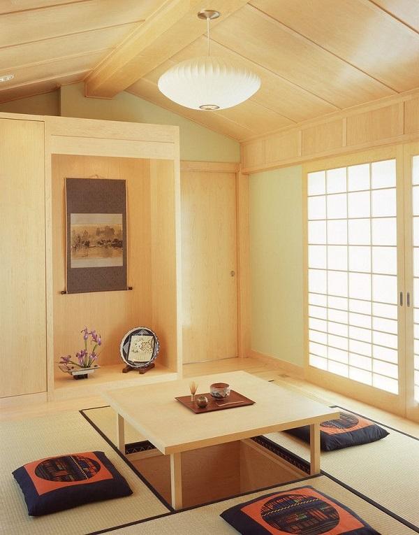 Mẫu 11 - Phòng khách gỗ tạo cảm giác gần gũi