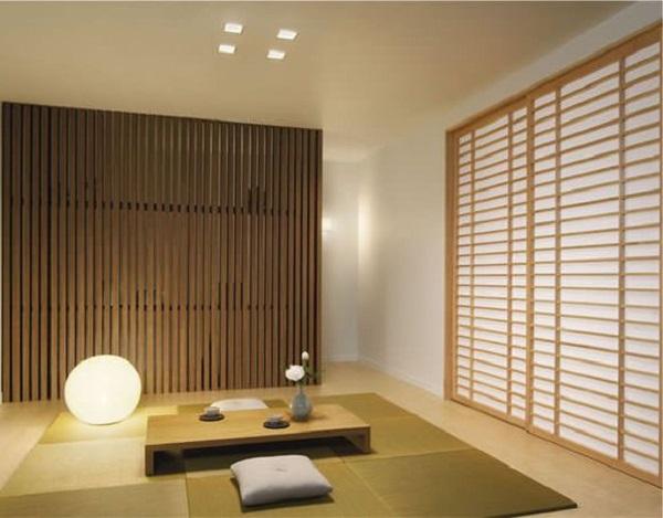 Mẫu 17 - Một mẫu phòng khách ngồi bệt kiểu Nhật khác