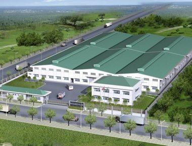 Thiết kế nhà xưởng công ty TNHH Nhựa Dư Long